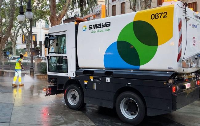 EMAYA cuenta con una nueva limpiadora con agua a presión de gran capacidad