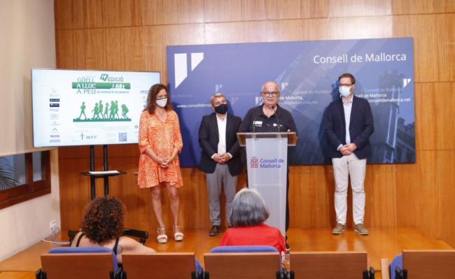 El Consell acull la presentació de la Marxa des Güell a Lluc a Peu