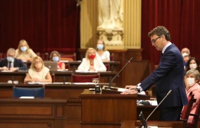 El PP balear critica la 'resignación' de Armengol a que la recuperación económica   sea a finales de 2022