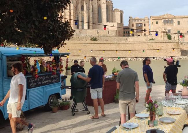 Palma Film Office apoya la serie 'The heart of the Mediterranean', programa culinario que se emitirá en la principal cadena de televisión de los Países Bajos