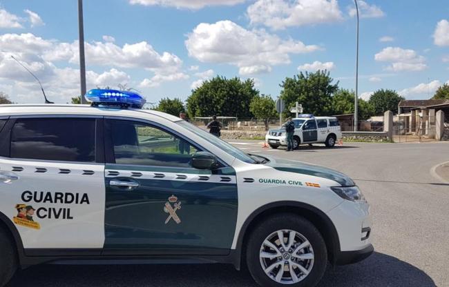 "La Guardia Civil establece un amplio dispositivo con motivo de la ""XLVII MARXA  DES GUELL A LLÜC A PEU"""
