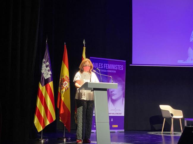 Garrido apuesta por que las Islas Baleares continúen siendo pioneras en políticas de igualdad