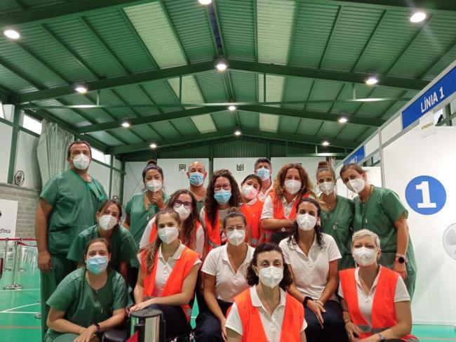 Los centros de vacunación masiva de Inca (Mateu Cañellas) y Manacor (Hipódromo) cierran esta tarde