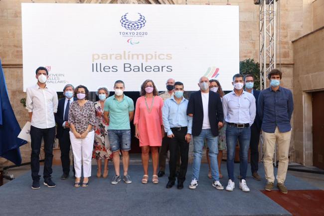 Reconocimiento a los deportistas paralímpicos de las Illes Balears que han participado en Tokyo 2020
