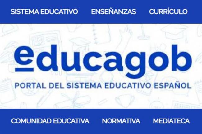 Educación y Formación Profesional lanza 'educagob', el nuevo portal del sistema educativo español
