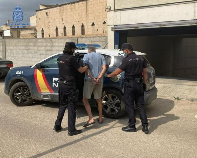 La Policía Nacional de Manacor detiene a un hombre por delito de exhibicionismo