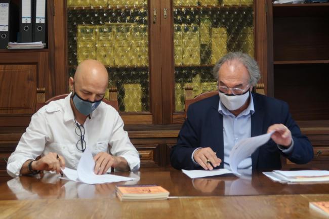 Educación y Ayuntamiento firman el Convenio de colaboración para la creación de una escoleta 0-3 en Maria de la Salut