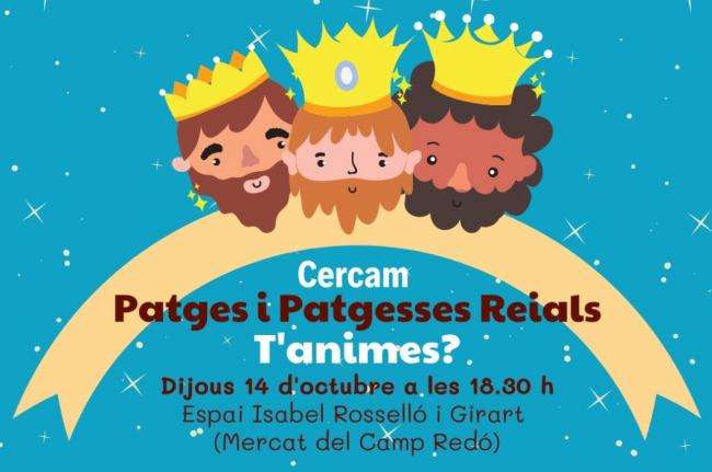 El ayuntamiento de Palma hace un llamamiento para escoger a los y las pajes para la Cabalgata de los Reyes 2022
