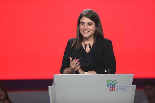 La eurodiputada del PSIB-PSOE, Alicia Homs, es reelegida presidenta de los Jóvenes Socialistas Europeos