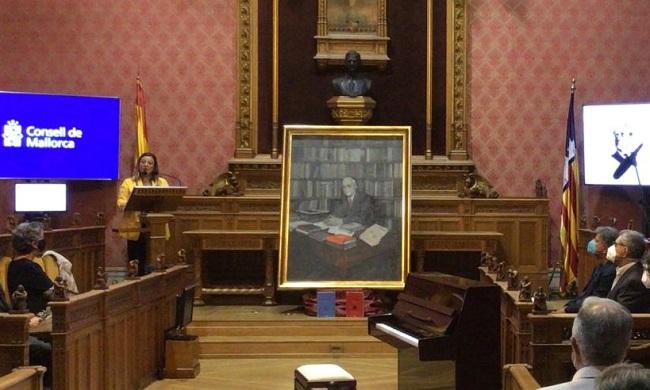 El Consell recuerda y reivindica a Francesc de Borja Moll