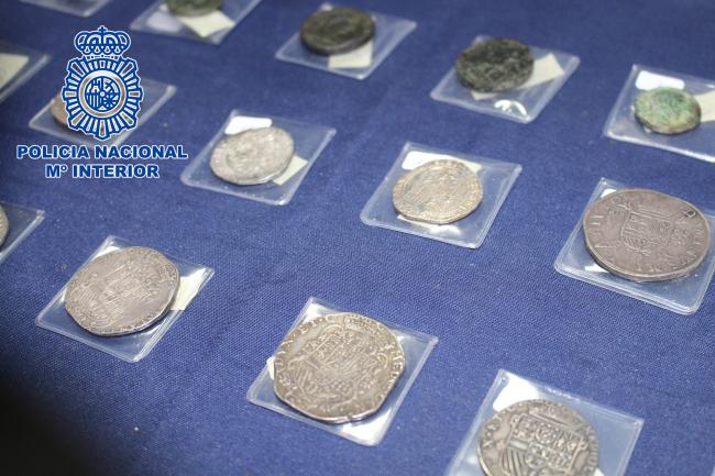 Desarticulado un grupo criminal por el robo de monedas del Imperio Romano valoradas en más de 120.000 euros