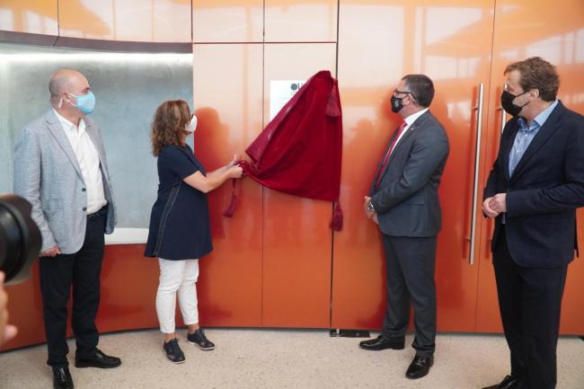 La presidenta Armengol asiste a la inauguración del auditorio Caló de s'Oli de Sant Josep de sa Talaia