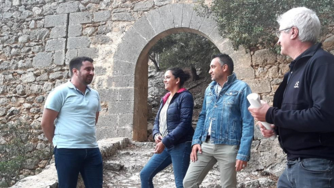 Territori prevé que este año el castillo de Alaró pasará a manos del Consell