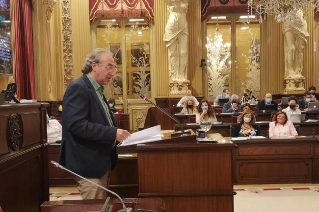 Martí March defiende el espíritu de diálogo y consenso del proyecto de Ley de Educación de las Islas Baleares