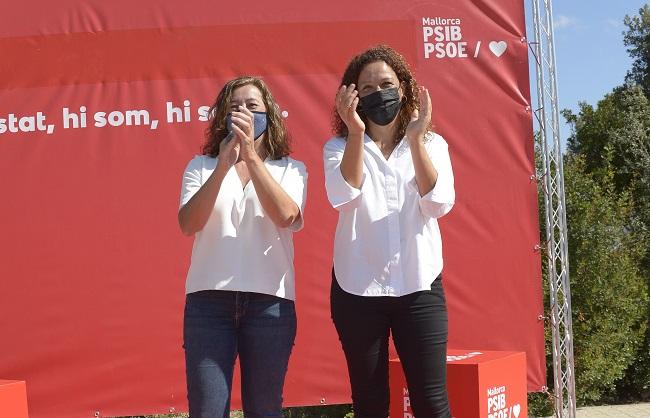 Francina Armengol y Catalina Cladera presentan los avales necesarios para sus precandidaturas