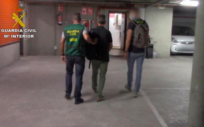 Detenido en Barcelona un pedófilo reclamado por las autoridades de EE.UU tras huir estando bajo arresto domiciliario en 2010