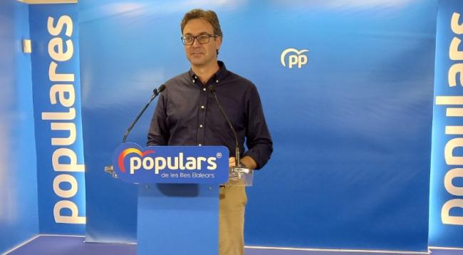 El PP pide la comparecencia de Armengol en el Parlament por el 'no' del PSOE en el Senado a votar a favor del Régimen Fiscal de Balears
