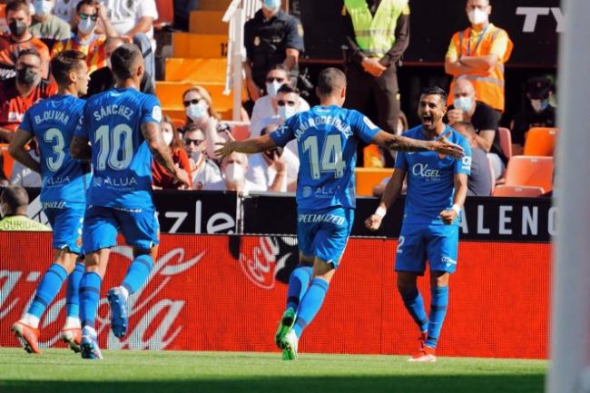 El RCD Mallorca empata en Mestalla (2-2)