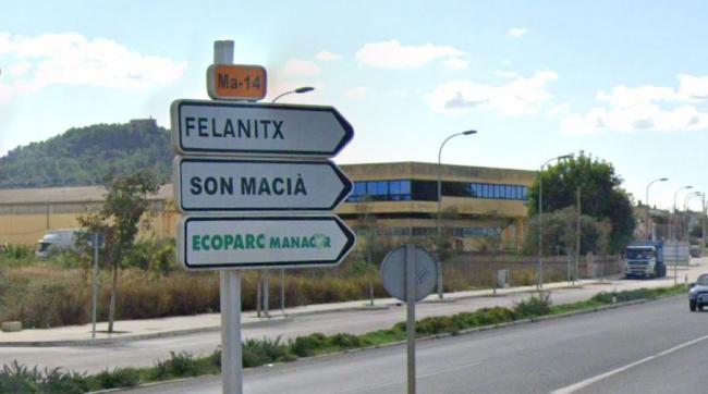 Reclaman al Consell de Mallorca la adecuación y mejora de la carretera que une Manacor y Felanitx