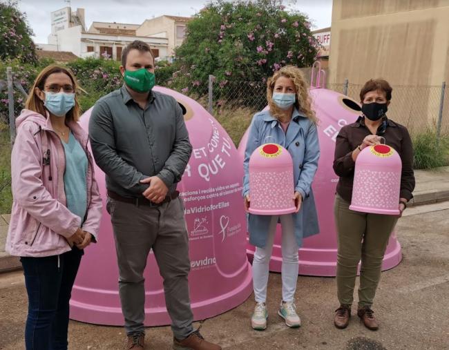 Santanyí presenta la campaña solidaria 'Recicla Vidrio para ellas'