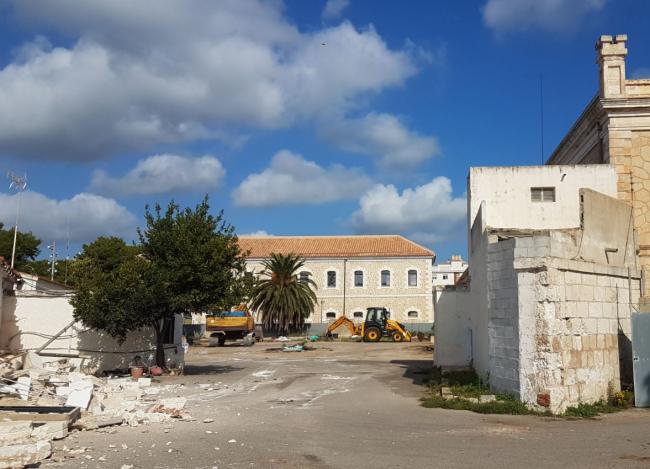 Empiezan las obras de la residencia del cuartel de Santiago de Maó que se financia con fondos europeos