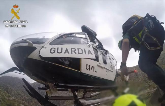 La Guardia Civil lleva a cabo dos rescates en la Serra de Tramuntana